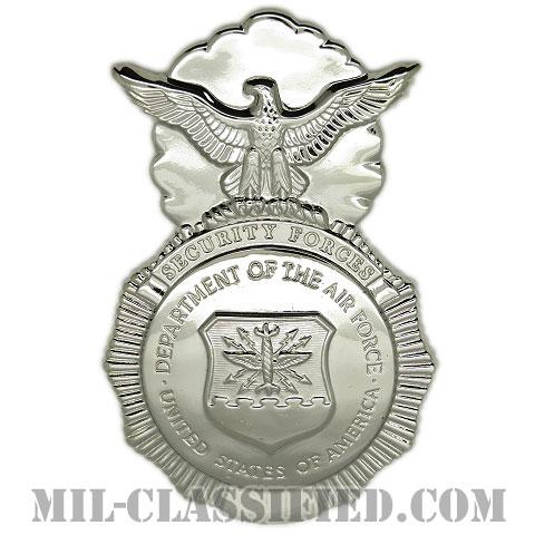 空軍警備隊章 (セキュリティーフォース・セキュリティーポリス)(Security Forces Badge, Security Police Badge)[カラー/鏡面仕上げ/バッジ/ピンバック]の画像
