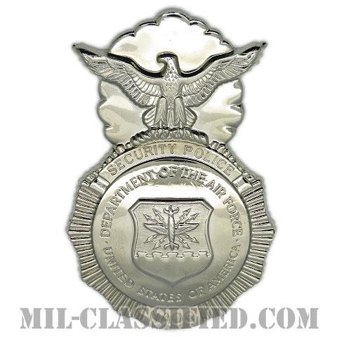 空軍警備隊章 (第55警備大隊)(NAOC, Security Forces Badge, Security Police Badge)[カラー/鏡面仕上げ/バッジ/ピンバック]の画像