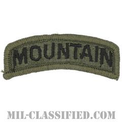 マウンテンタブ(Mountain Tab)[サブデュード/メロウエッジ/パッチ]の画像