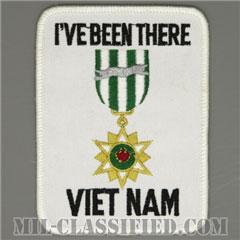 ベトナム戦争ベテラン(I'VE BEEN THERE VIETNAM)[カラー/メロウエッジ/パッチ]の画像
