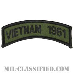 1961年ベトナム戦争ベテラン(VIETNAM 1961)[サブデュード/メロウエッジ/パッチ]の画像