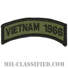 1966年ベトナム戦争ベテラン(VIETNAM 1966)[サブデュード/メロウエッジ/パッチ]の画像