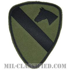 第1騎兵師団(1st Cavalry Division)[サブデュード/カットエッジ/コットンツイル/パッチ/レプリカ]画像