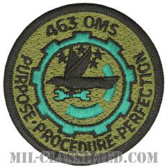 第463部隊整備隊(463rd Organizational Maintenance Squadron)[サブデュード/メロウエッジ/パッチ]の画像