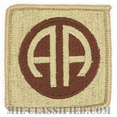 第82空挺師団(82nd Airborne Division)[デザート/メロウエッジ/パッチ]の画像