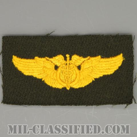 飛行医師章(Flight Surgeon Badge)[カラー/ギャバジン生地/パッチ/1点物]の画像