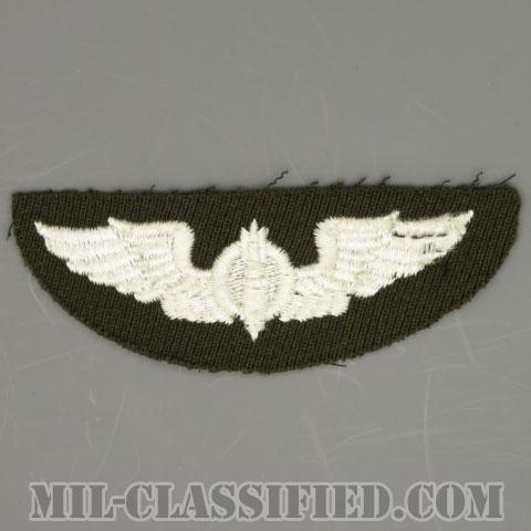 爆撃手章 (ボンバルディア)(AAF Bombardier Wing)[カラー/ギャバジン生地/パッチ/1点物]の画像