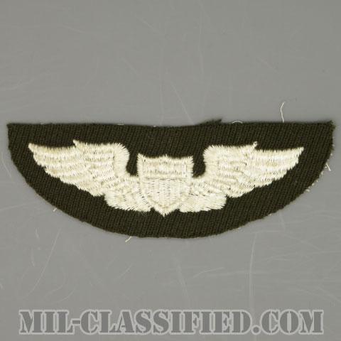 航空機操縦士章 (パイロット)(Air Force Pilot Badge)[カラー/ギャバジン生地/パッチ/1点物]の画像