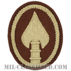 アメリカ特殊作戦軍(U.S. Special Operations Command)[デザート/メロウエッジ/パッチ]の画像