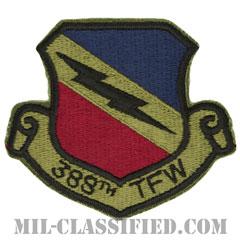 第388戦術戦闘航空団(388th Tactical Fighter Wing)[サブデュード/カットエッジ/パッチ]の画像