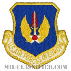 在欧アメリカ空軍(Air Forces In Europe Command)[カラー/カットエッジ/パッチ]の画像
