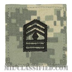 先任曹長 (士官学生用)(Cadet, First Sergeant (1SG))[UCP(ACU)/階級章/ベルクロ付パッチ]の画像