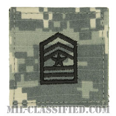 上級曹長 (士官学生用)(Cadet, Sergeant Major (SGM))[UCP(ACU)/階級章/ベルクロ付パッチ]の画像
