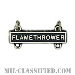 射撃技術章用バー (フレイムスロウアー)(Qualification Bar, FLAMETHROWER)[カラー/燻し銀/バッジ]の画像