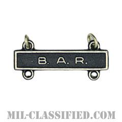 射撃技術章用バー (バー)(Qualification Bar, B.A.R.)[カラー/燻し銀/バッジ]の画像