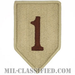 第1歩兵師団(1st Infantry Division)[デザート/メロウエッジ/パッチ]の画像