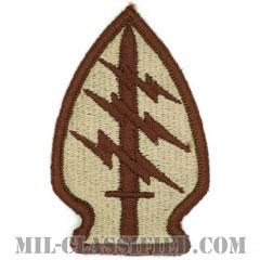 特殊部隊群(Special Forces Group)[デザート(ブラウンエッジ)/メロウエッジ/パッチ]の画像