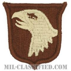 第101空挺師団(101st Airborne Division)[デザート/メロウエッジ/パッチ]の画像