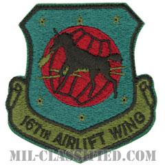 第167空輸航空団(167th Airlift Wing)[サブデュード/カットエッジ/パッチ]の画像