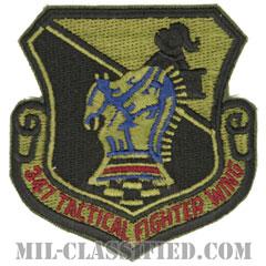 第347戦術戦闘航空団(347th Tactical Fighter Wing)[サブデュード/カットエッジ/パッチ]の画像