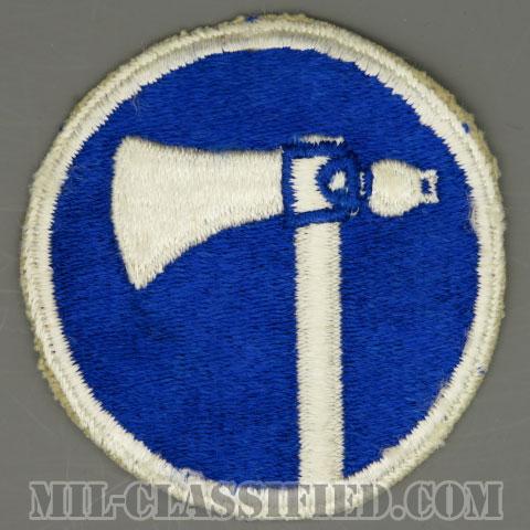 第19軍団(19th Corps)[カラー/カットエッジ/パッチ/中古1点物]の画像