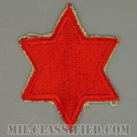第6歩兵師団(6th Infantry Division)[カラー/カットエッジ/パッチ/中古1点物]の画像