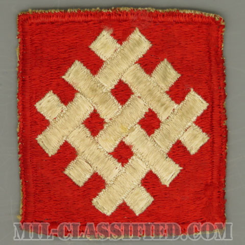 第6軍集団(6th Army Group)[カラー/カットエッジ/パッチ/中古1点物]の画像