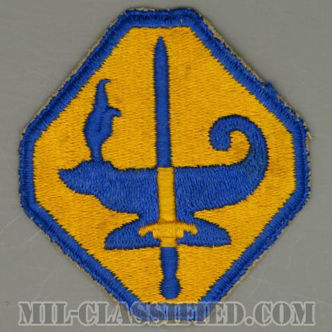 陸軍専門訓練計画(Army Specialized Training Program)[カラー/カットエッジ/パッチ/中古1点物]の画像