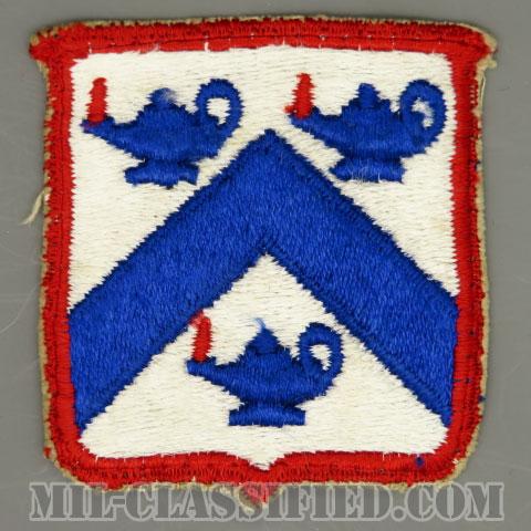 陸軍指揮幕僚大学(Command and General Staff College)[カラー/カットエッジ/パッチ/中古1点物]の画像