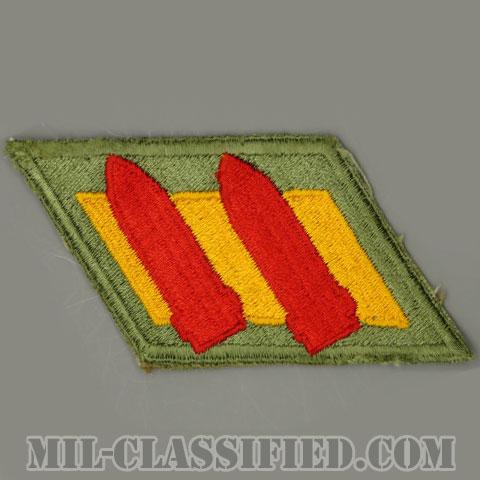 第2沿岸砲兵隊(2nd Coast Artillery)[カラー/カットエッジ/パッチ/中古1点物]の画像