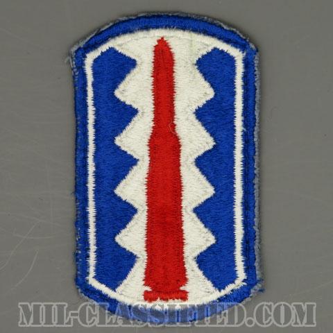 第197歩兵旅団(197th Infantry Brigade)[カラー/カットエッジ/パッチ/中古1点物]の画像