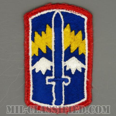第171歩兵旅団(171st Infantry Brigade)[カラー/カットエッジ/パッチ/中古1点物]の画像