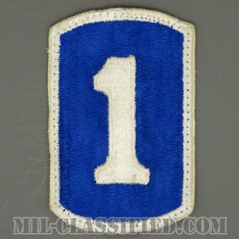 第1歩兵旅団(1st Infantry Brigade)[カラー/カットエッジ/パッチ/中古1点物]の画像