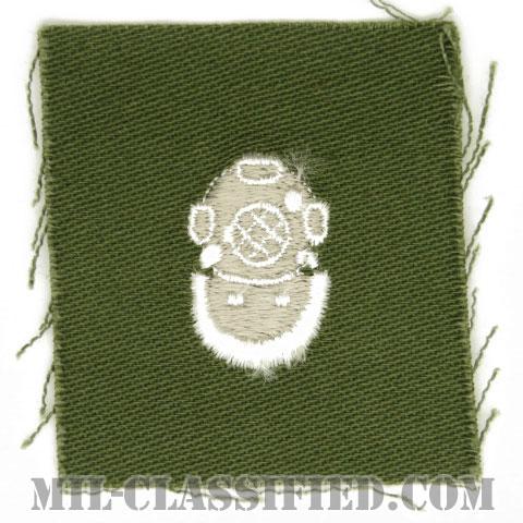 潜水員章 (2級)(Diver Badge, Second Class)[カラー/パッチ/1点物]の画像