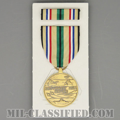 Southwest Asia Service Medal [メダル(勲章・Medal)リボン(略綬・略章・Ribbon)セット]の画像