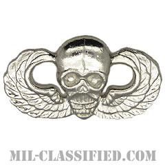 スカル空挺章(Skull, Parachutist Badge)[カラー/バッジ/レプリカ]の画像