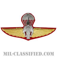タイ王国軍空挺章(Thailand Parachutist Badge)[カラー/バッジ]の画像