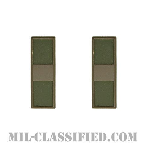 准尉 (WO1)(Warrant Officer 1)[サブデュード(ブラックメタル)/階級章(1956-1972)/バッジ/ペア(2個1組)]の画像