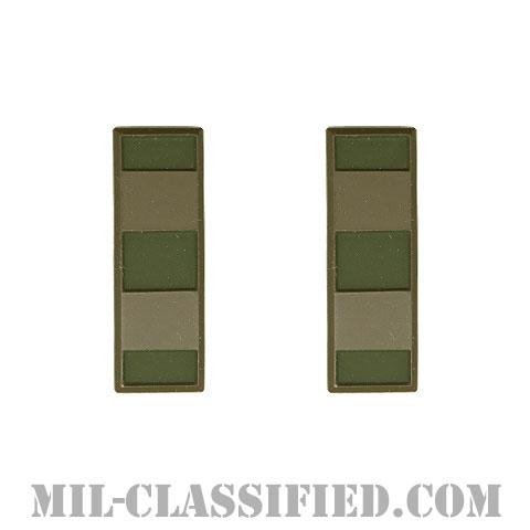 准尉長 (CW2)(Chief Warrant Officer 2)[サブデュード(ブラックメタル)/階級章(1956-1972)/バッジ/ペア(2個1組)]の画像