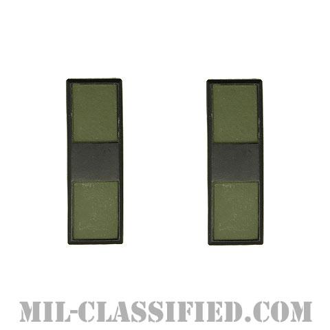 准尉長 (CW3)(Chief Warrant Officer 3)[サブデュード(ブラックメタル)/階級章(1956-1972)/バッジ/ペア(2個1組)]の画像