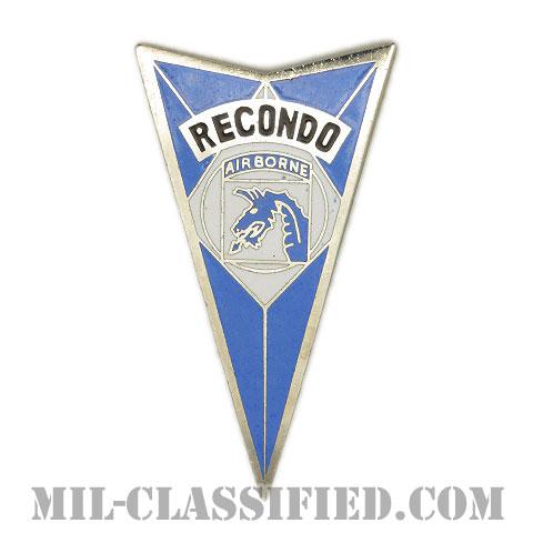 第18空挺軍団リコンドースクール(18th Airborne Corps Recondo School)[カラー/バッジ]の画像
