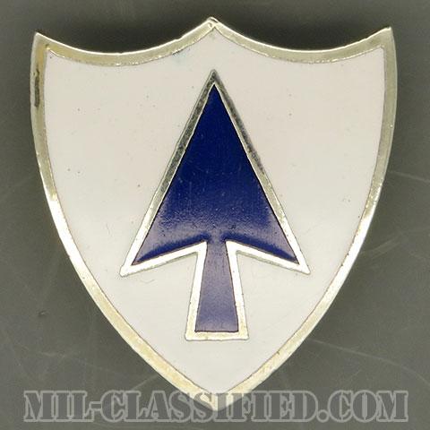 第26歩兵連隊(26th Infantry Regiment)[カラー/クレスト(Crest・DUI・DI)バッジ(ピンバック)/中古1点物]の画像