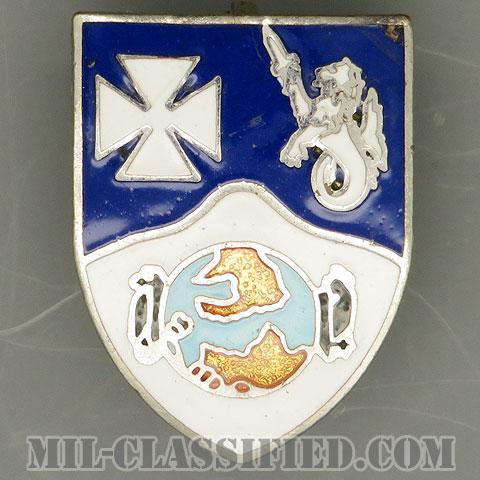 第23歩兵連隊(23rd Infantry Regiment)[カラー/クレスト(Crest・DUI・DI)バッジ(ピンバック)/中古1点物]の画像