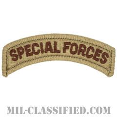 スペシャルフォースタブ(Special Forces Tab)[デザート/メロウエッジ/パッチ]の画像
