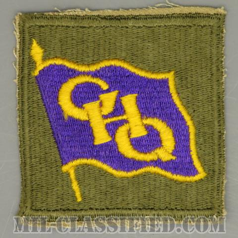 連合国軍最高司令官総司令部(General Headquarters (GHQ))[カラー/カットエッジ/パッチ/1点物]の画像