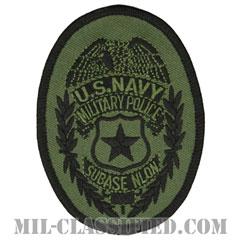 Naval Security Force (ニューロンドン海軍潜水艦基地憲兵隊)[サブデュード/メロウエッジ/パッチ]の画像