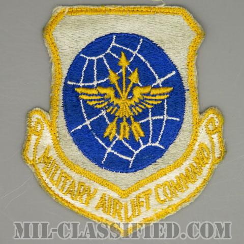 軍事空輸軍団(Military Airlift Command (MAC))[カラー/カットエッジ/パッチ/1960s/4インチ規格/中古1点物]の画像