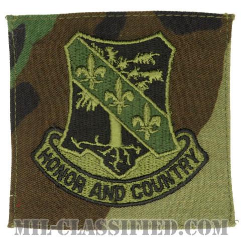 第327歩兵連隊(327th Infantry Regiment)[サブデュード/ウッドランド生地/ポケットパッチ]の画像