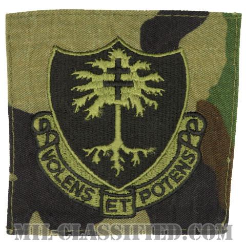 第320野戦砲兵連隊(320th Field Artillery Regiment)[サブデュード/ウッドランド生地/ポケットパッチ]の画像
