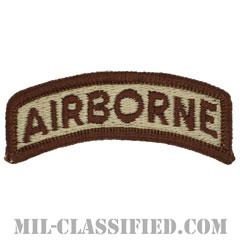 エアボーンタブ(Airborne Tab)[デザート(ブラウンエッジ)/メロウエッジ/パッチ]の画像